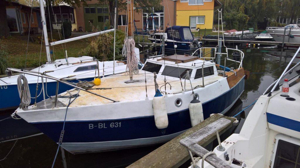 Big Betty Sailing der Urzustand